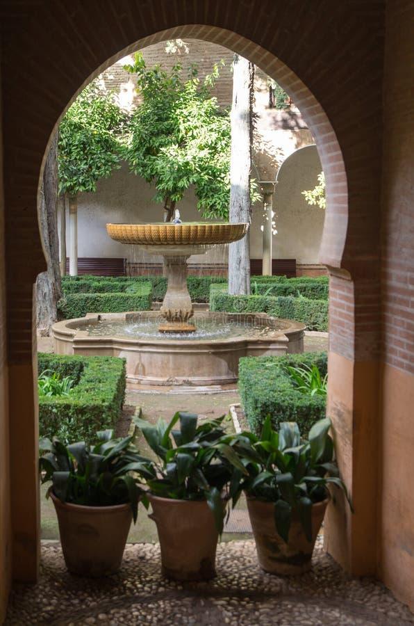 Alhambra em Granada fotografia de stock royalty free