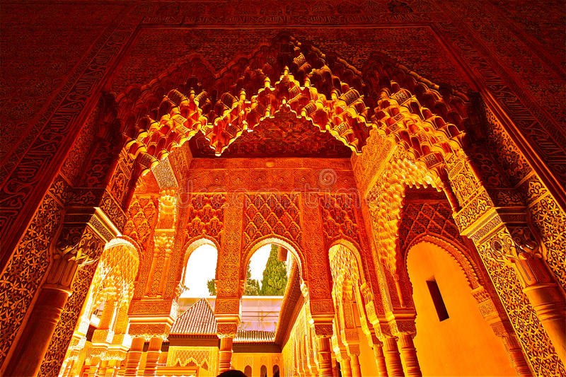 Alhambra, Granada Royalty Free Stock Images