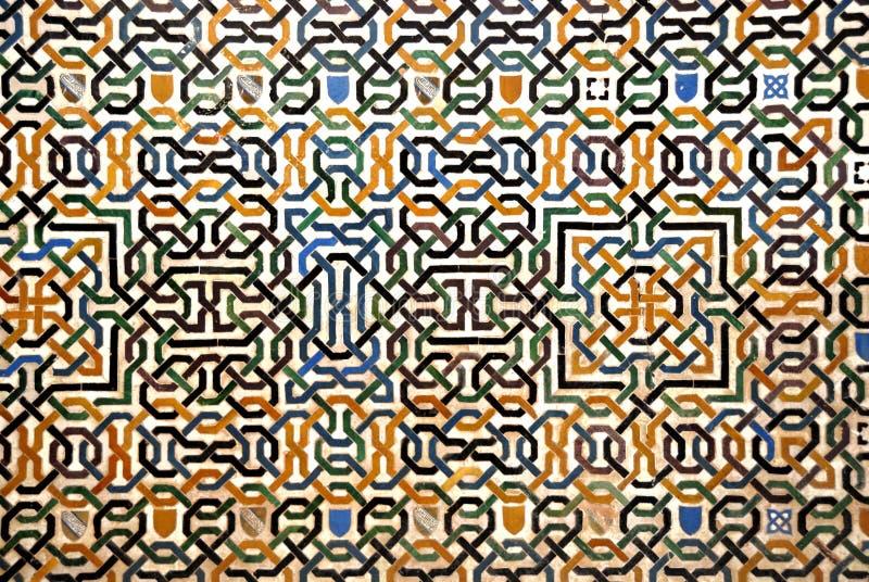 Download Alhambra a Granada fotografia stock. Immagine di mosaico - 3135682