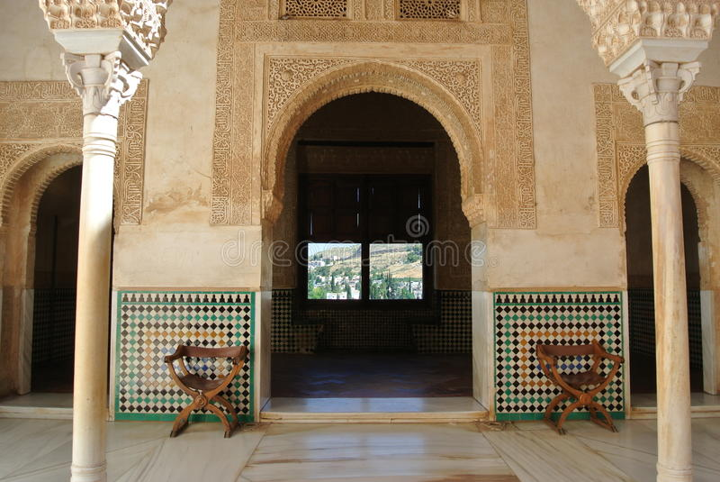 Alhambra, Granada imagens de stock royalty free