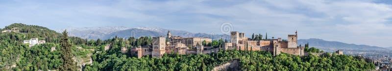 alhambra granada стоковая фотография rf