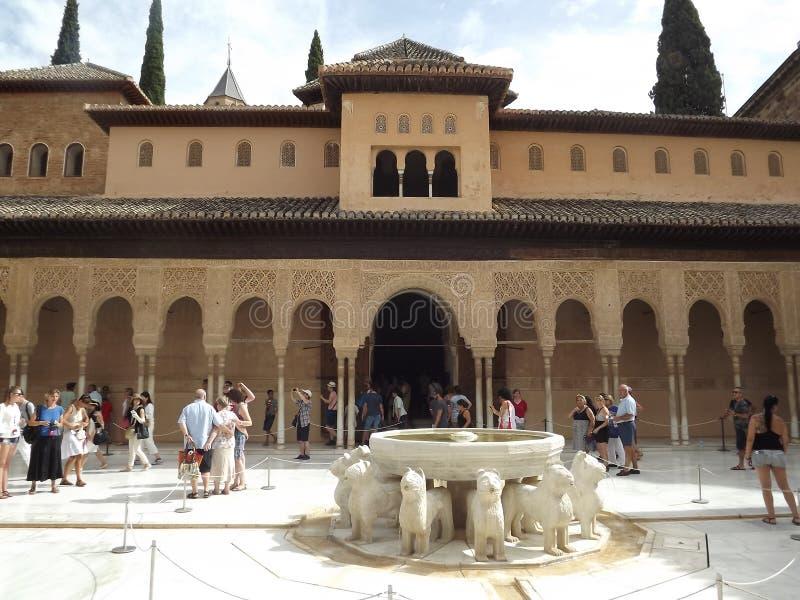 Alhambra, Granada immagine stock libera da diritti