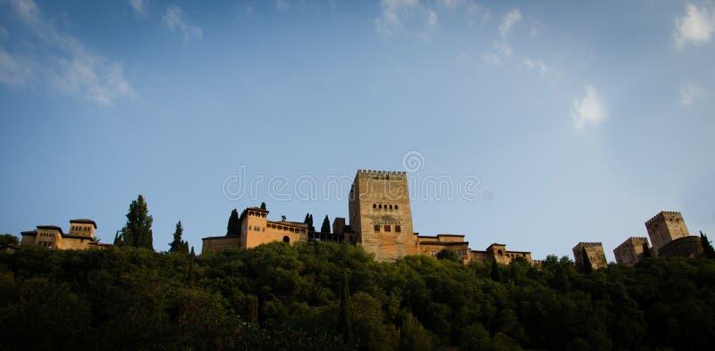 Alhambra in Granada lizenzfreies stockfoto