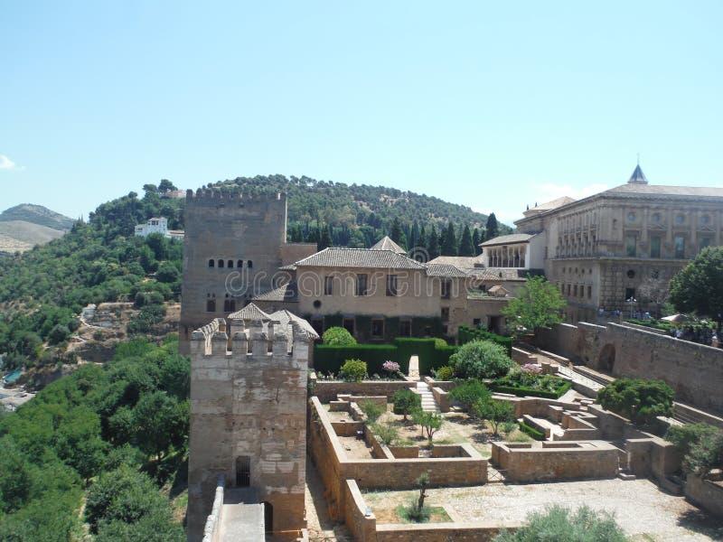 Alhambra, Granada stock images