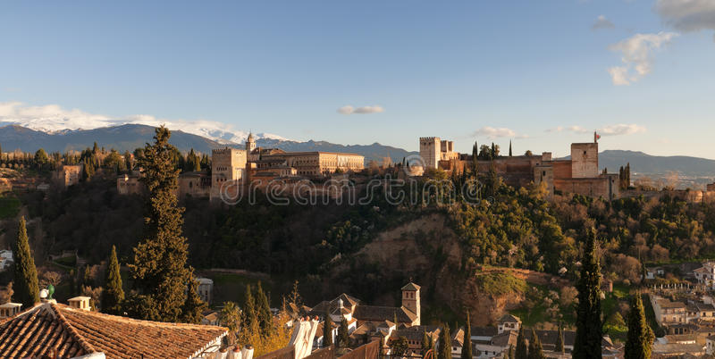Download Alhambra in Granada, Spain stock image. Image of sight - 18704205