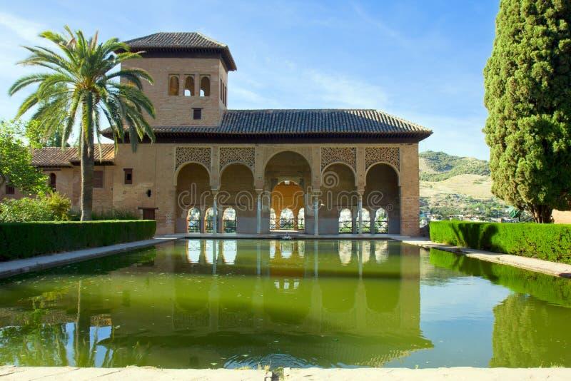 Alhambra of Granada, Spain royalty free stock photography