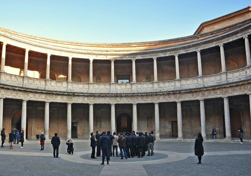 Alhambra of Granada-Spain royalty free stock image