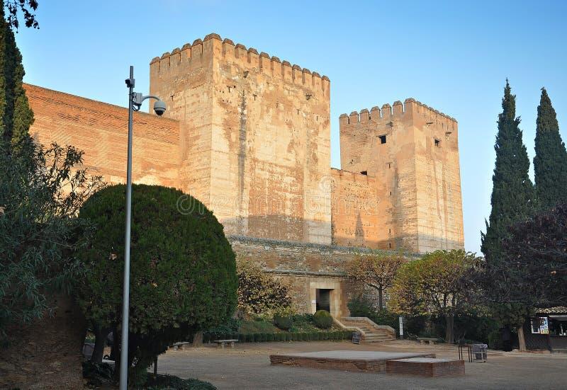 Alhambra of Granada-Spain stock images