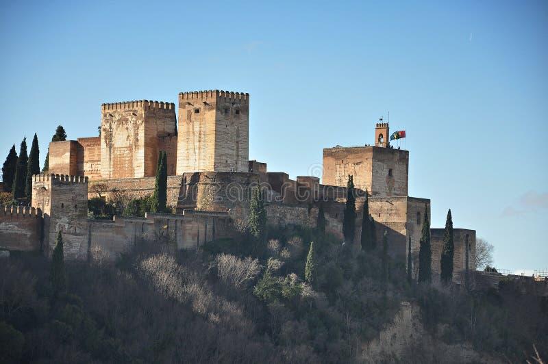 Alhambra of Granada-Spain royalty free stock photos