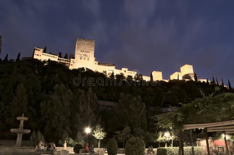 Alhambra granada, unesco, andalucia, Spanien royaltyfria foton