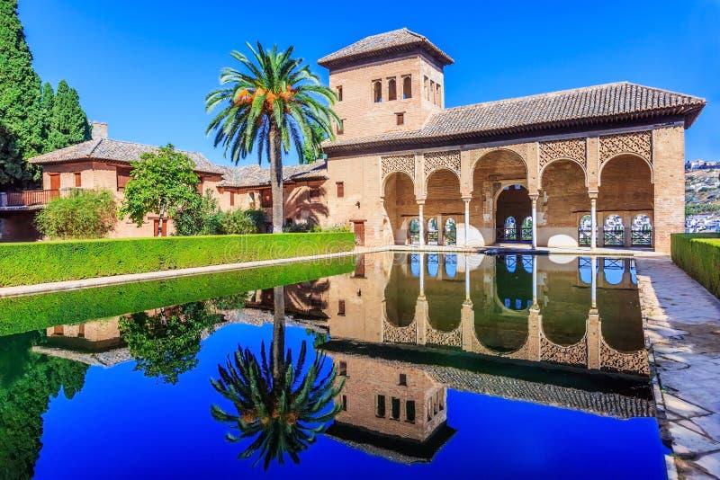 Alhambra, Grenade, Espagne image libre de droits