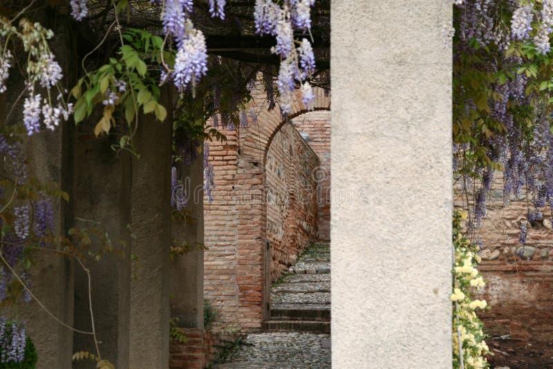Alhambra Grenade photos libres de droits