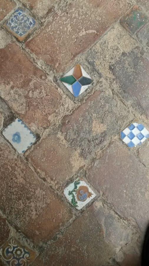 Alhambra-Malerei lizenzfreie stockbilder