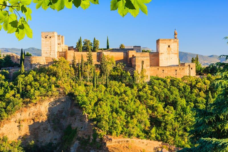 alhambra pałac Granada Spain zdjęcie royalty free