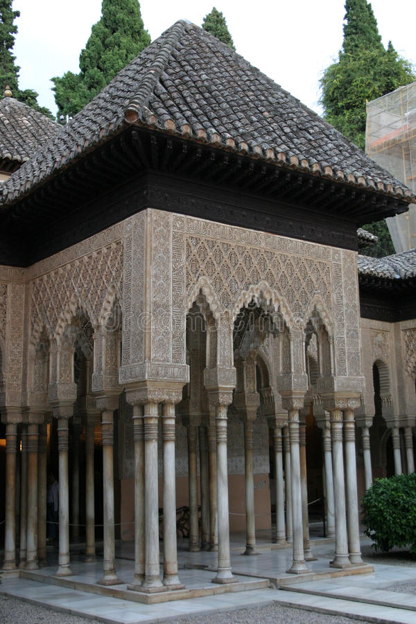Alhambra pałac w Granada zdjęcia stock