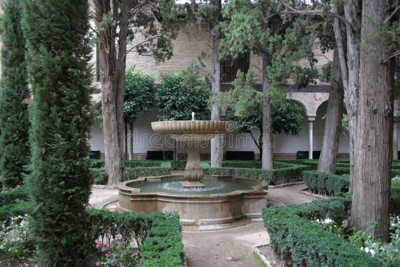 Alhambra pałac w Granada obrazy stock