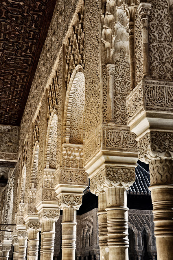Alhambra Palace In Granada Royalty Free Stock Images
