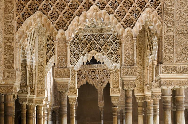Alhambra paleis stock afbeeldingen