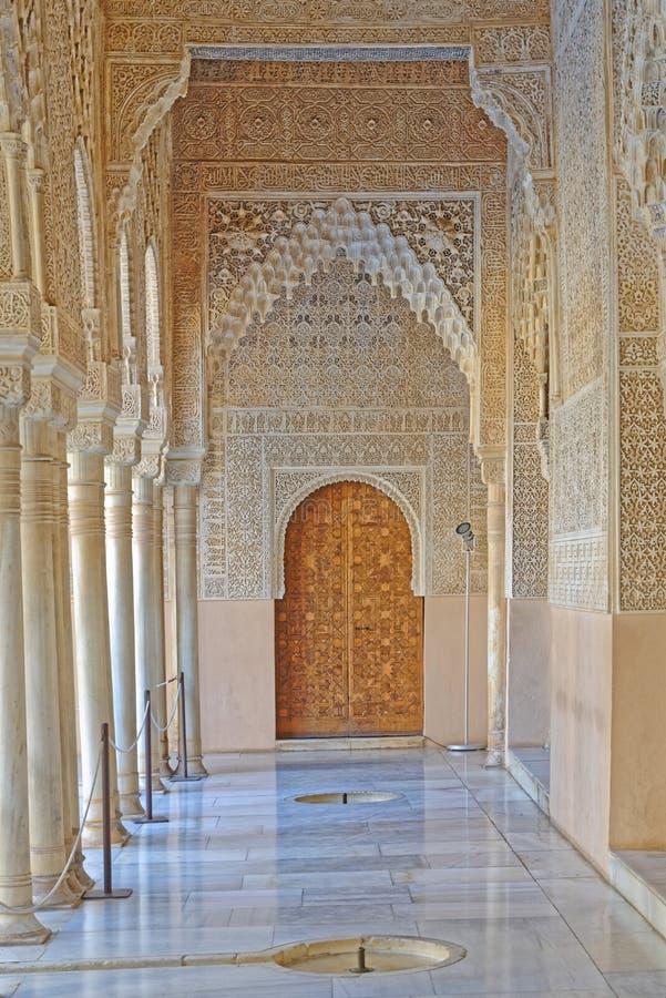 Alhambra Paleis, Granada, Spanje stock foto's