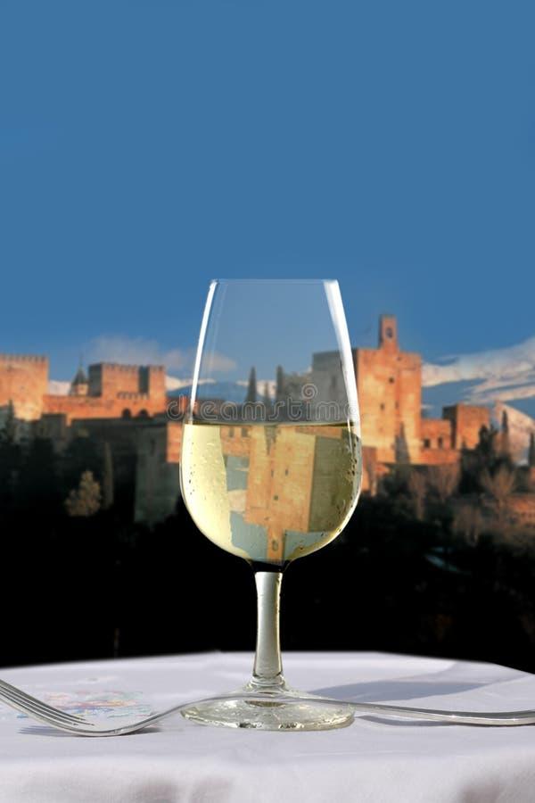 alhambra sherrywine arkivfoto