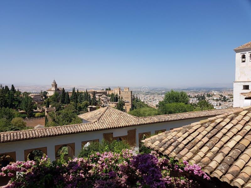 Alhambra, Spanien stockfotos