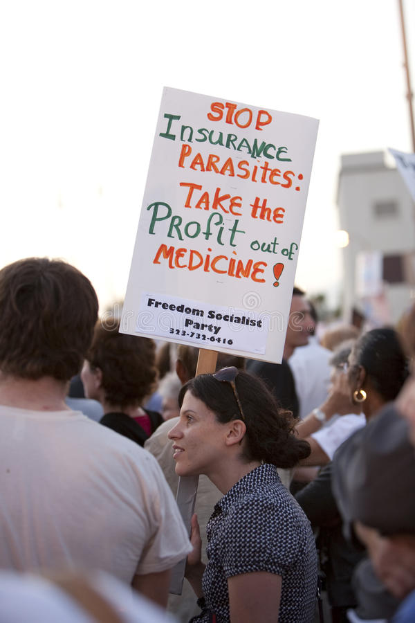 Download Alhambra Town Hall On Healthcare Reform Editorial Stock Photo - Image of reform, activism: 10508573