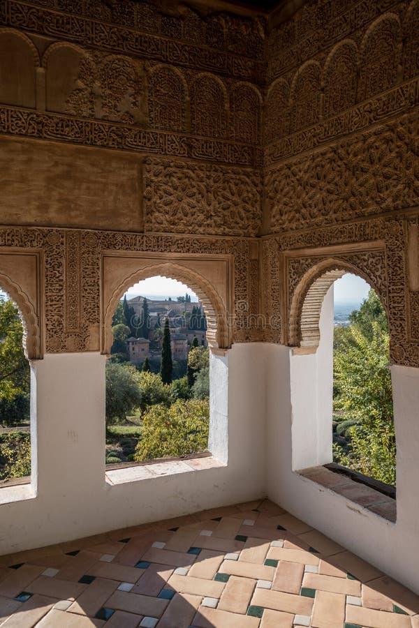 Alhambrade Granada stockfotos