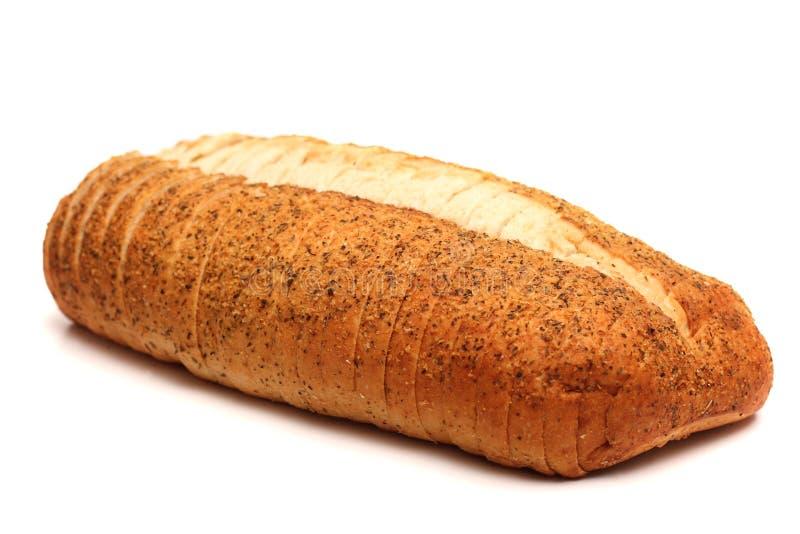 Alho e Herb Artisan White Bread imagens de stock