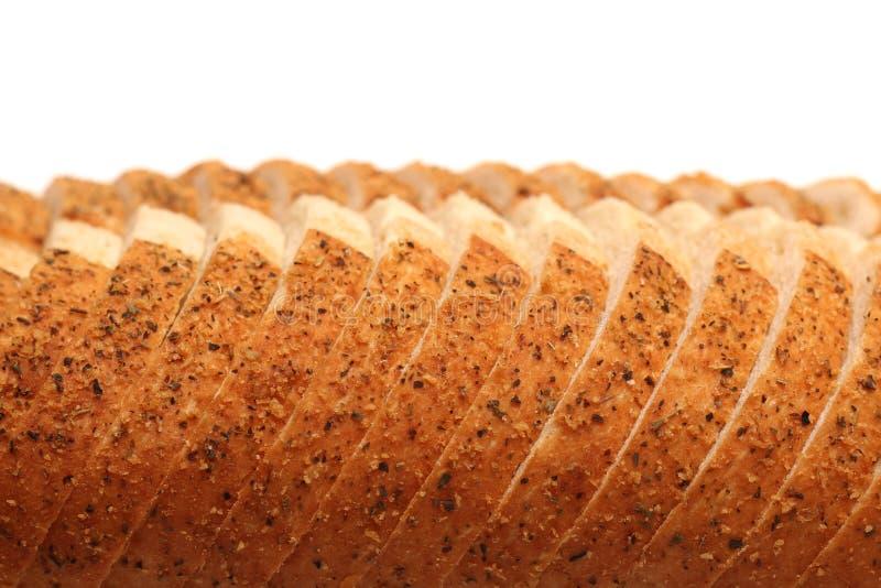 Alho e Herb Artisan White Bread imagem de stock