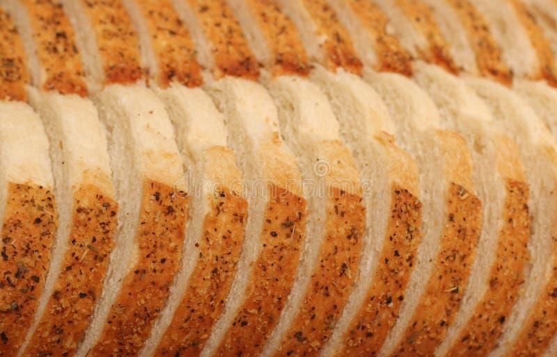 Alho e Herb Artisan White Bread foto de stock royalty free