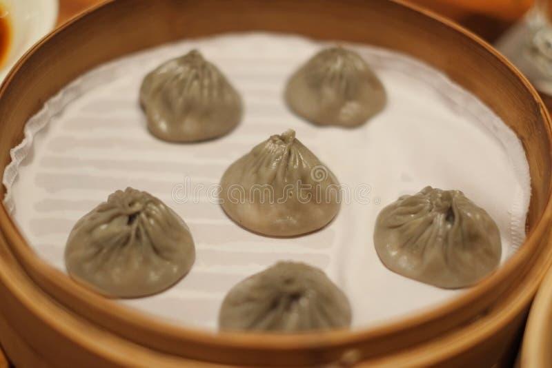 Alho Xiao Long Pao imagem de stock