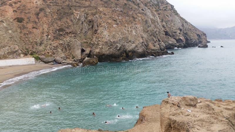 Alhoceimastad, Middellandse-Zeegebied en bergen, Marokko stock afbeeldingen