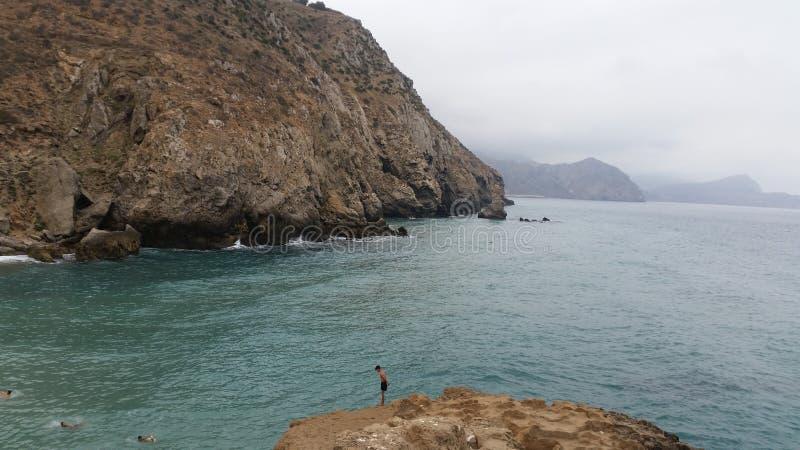Alhoceimastad, Middellandse-Zeegebied en bergen, Marokko stock fotografie