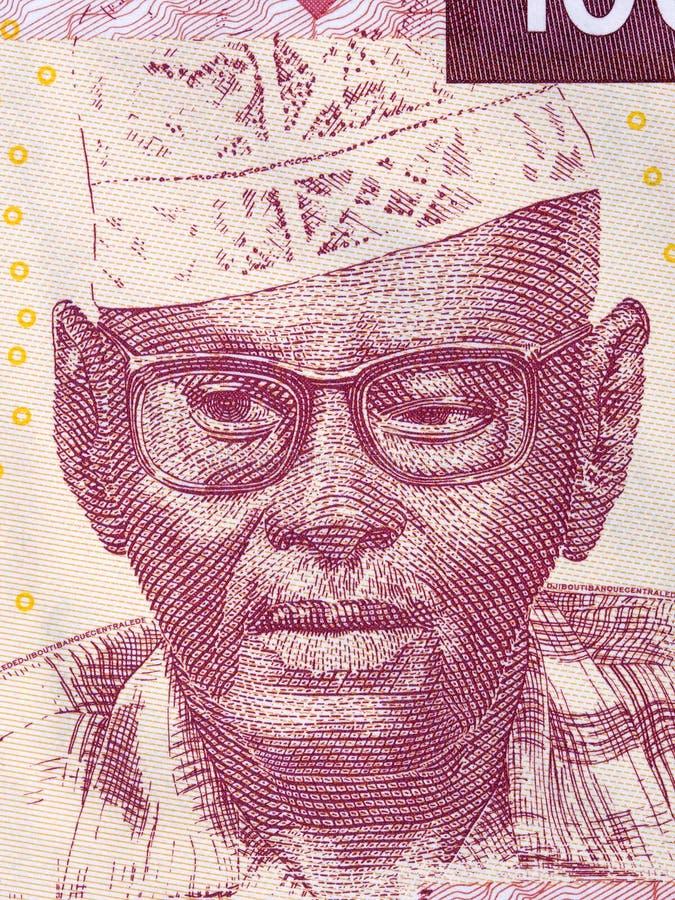 Ali Ahmed Oudum een portret royalty-vrije stock afbeelding