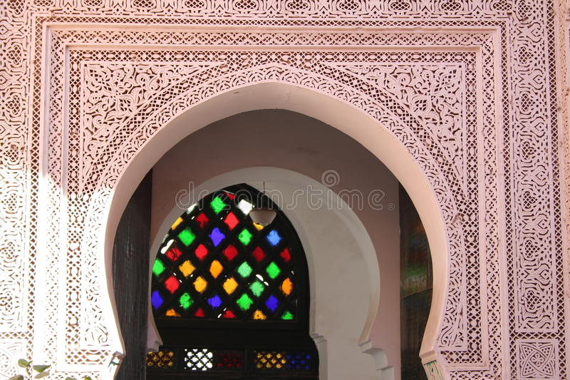 Ali Ben Youssef Madrasa Royalty Free Stock Photo