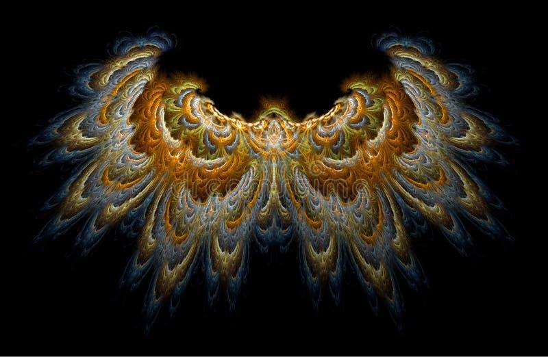 Ali del falco royalty illustrazione gratis