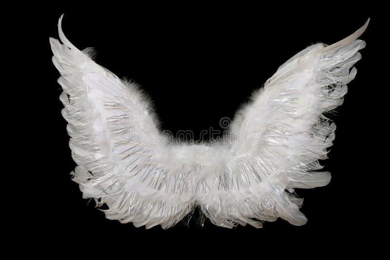Ali dell'angelo fotografia stock