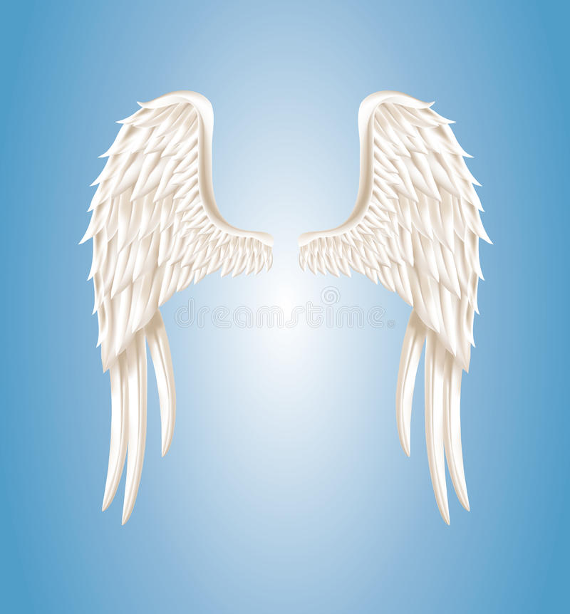 Ali di angelo royalty illustrazione gratis