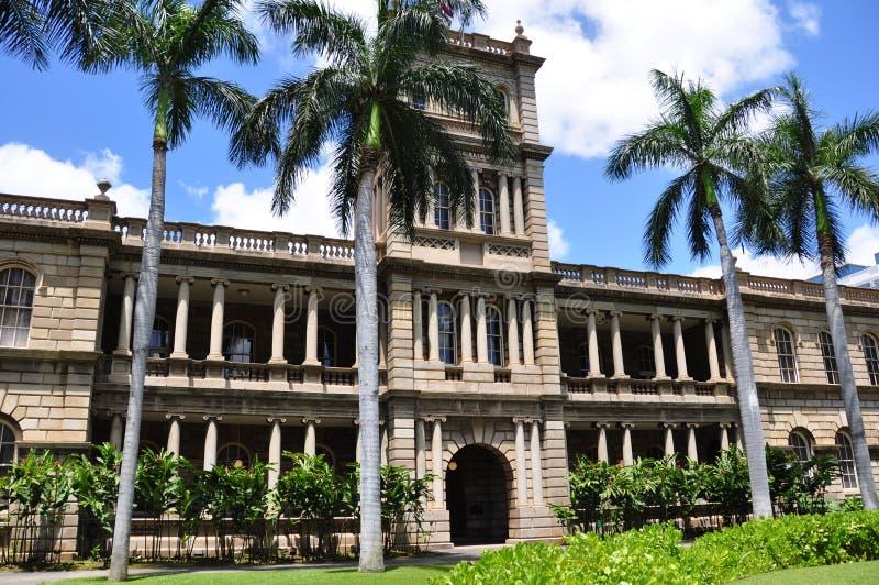 Ali'iolani sano, Honolulu, Hawaii fotografía de archivo libre de regalías