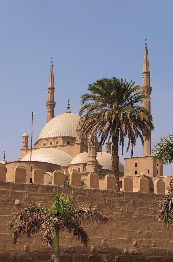 ali meczet Cairo Egypt Muhammad obrazy royalty free