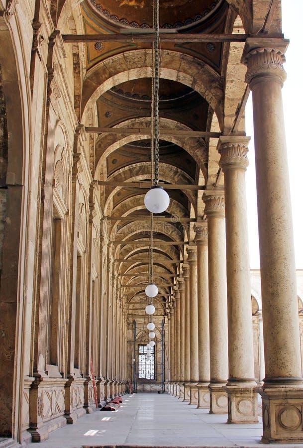 ali mohamed moské royaltyfri bild