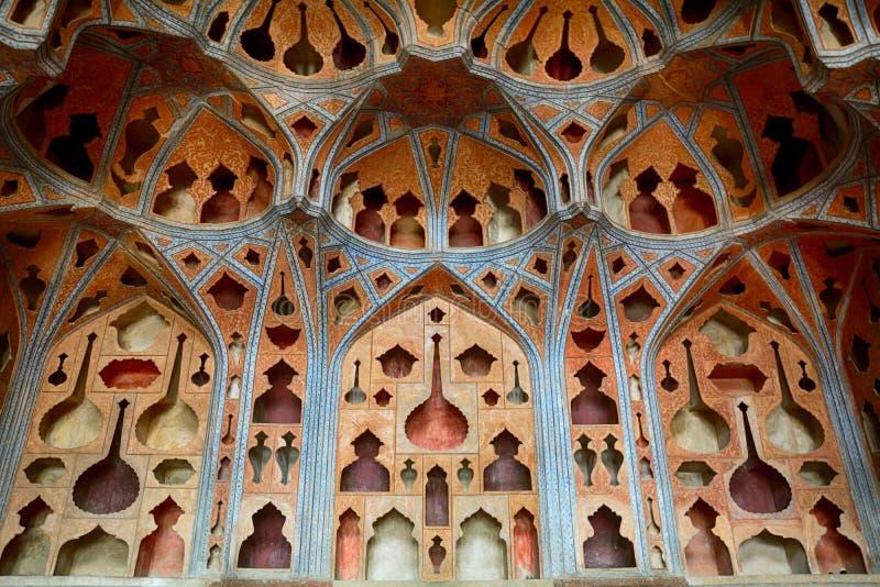 The Ali Qapu Palace, Isfahan, Iran stock image