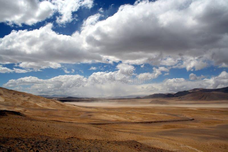 ali spektakularne splendorous Tibet drogowy zdjęcia stock