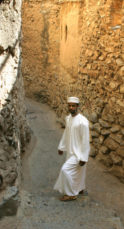 Ali, a young omani man stock images