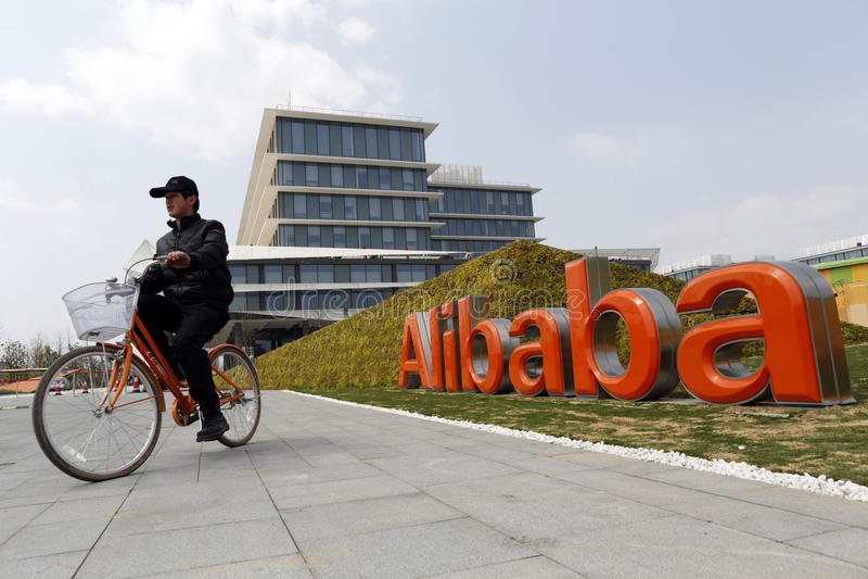 Alibaba grupa zdjęcie royalty free