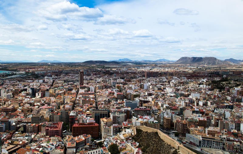 Alicante, Испания стоковая фотография rf