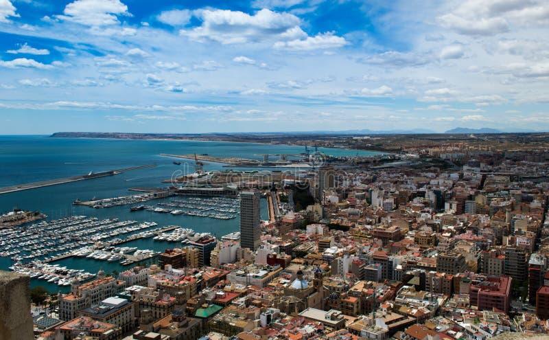 Alicante, Испания стоковое изображение rf