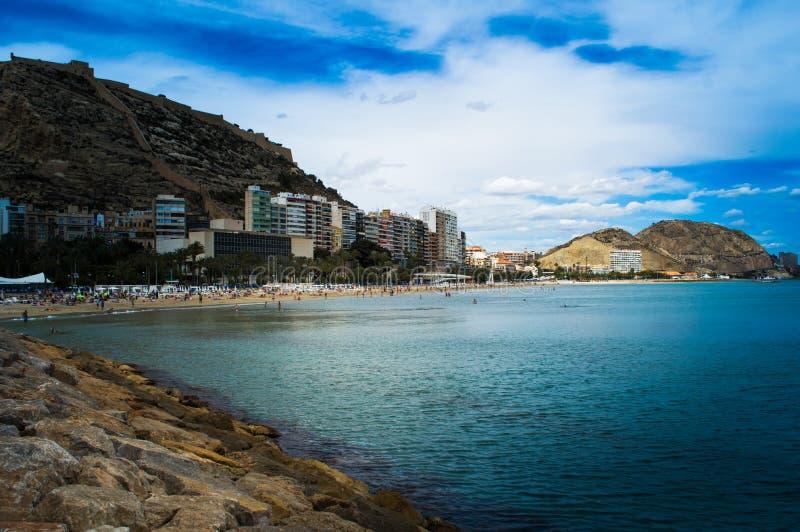 Alicante, Испания стоковые изображения rf