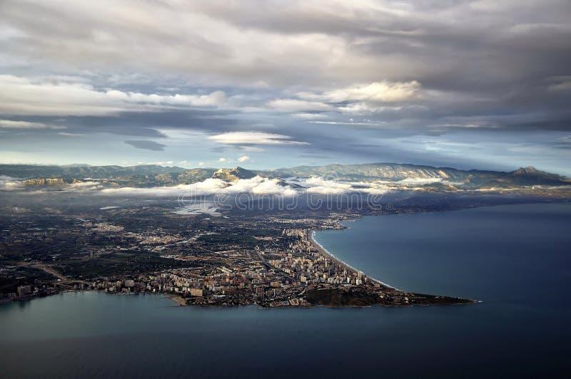 Download Alicante stock photo. Image of coastline, clouds, port - 12354306