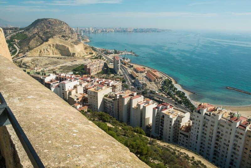Alicante royaltyfria bilder